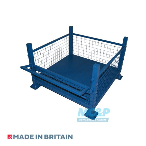 Half Drop Fronted Mesh Stillage