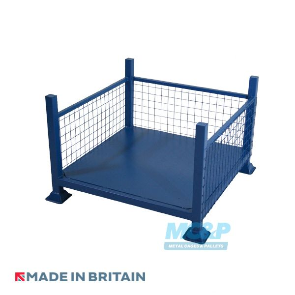 Metal/Steel Stillage (Pallet) with Mesh Sides and Open Front