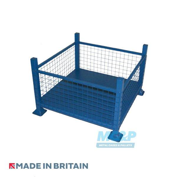 Metal/Steel Stillage (Pallet) with Mesh Sides