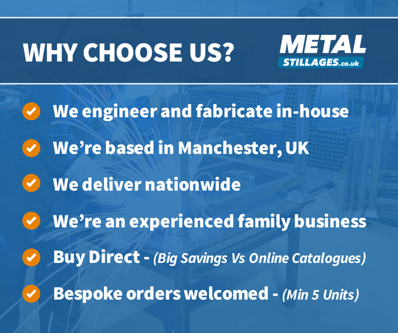 Why choose Metal Stillages